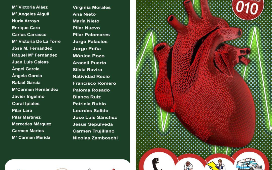 Cursos de RCP en los distritos de Málaga 2.018