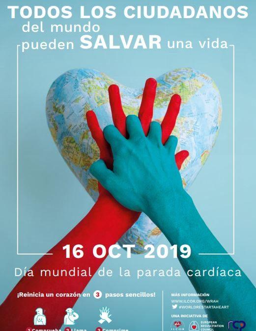 Día Europeo de la concienciación del paro cardíaco
