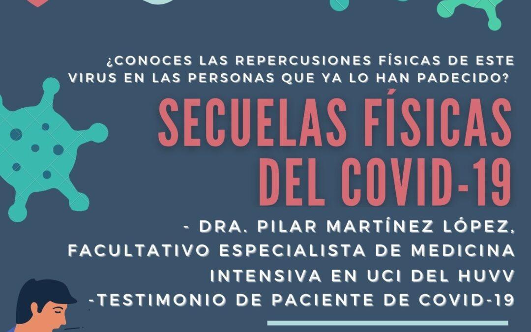 TALLER ONLINE «SECUELAS FÍSICAS DEL COVID-19»