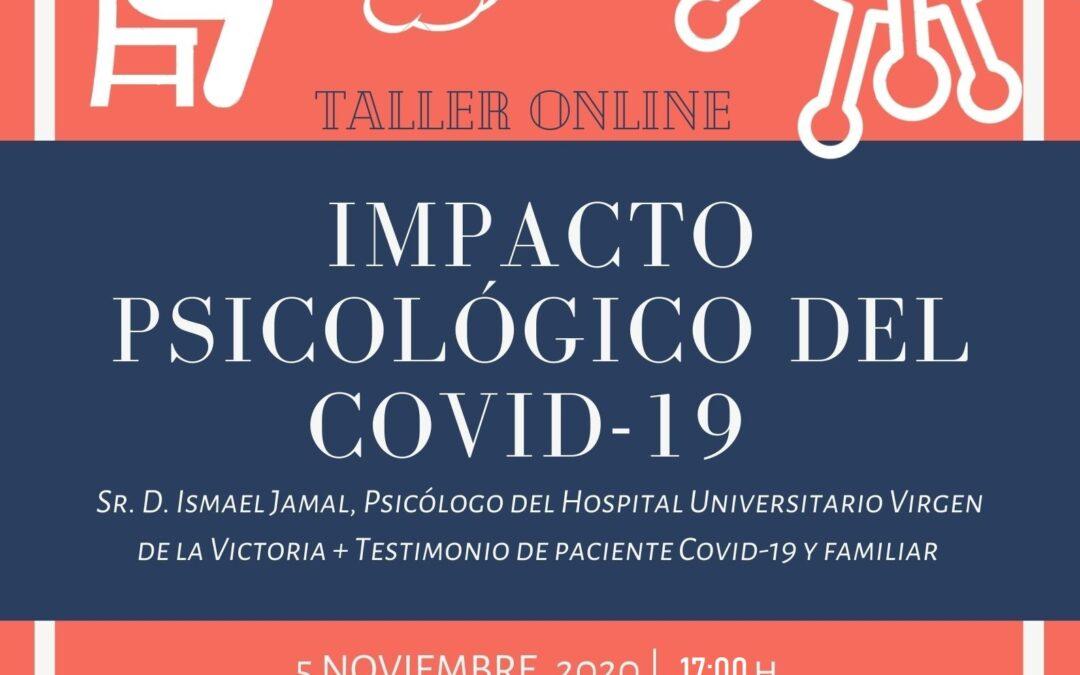 TALLER ONLINE «Impacto psicológico del Covid-19»