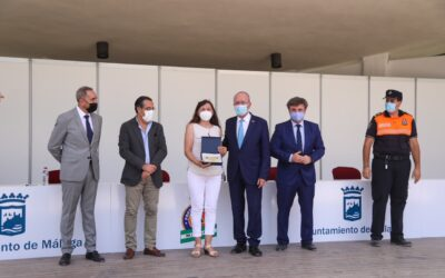 Reconocimiento del Ayuntamiento a la labor desarrollada por la Agrupación de Voluntarios de Protección Civil en Málaga, y la Asociación EXPAUMI